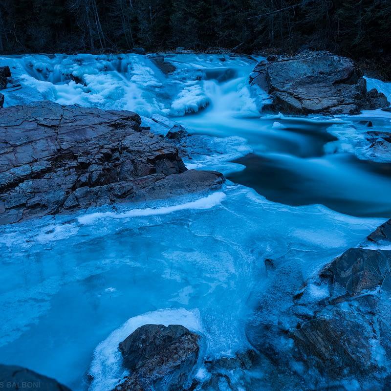 Frozen Yaak Falls