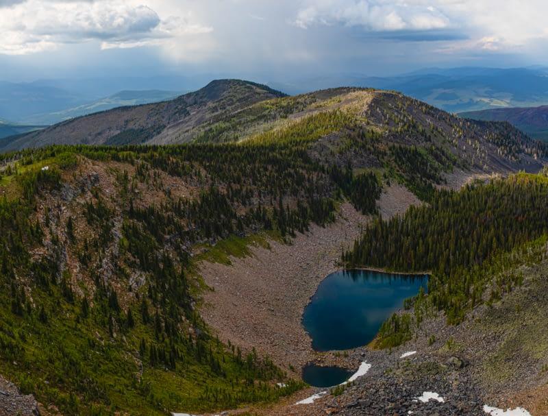 Upper Hawkins Lake & Northwest Peak Scenic Area