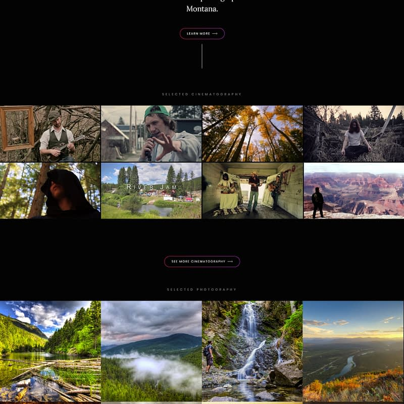 Balboni Films – Web Design