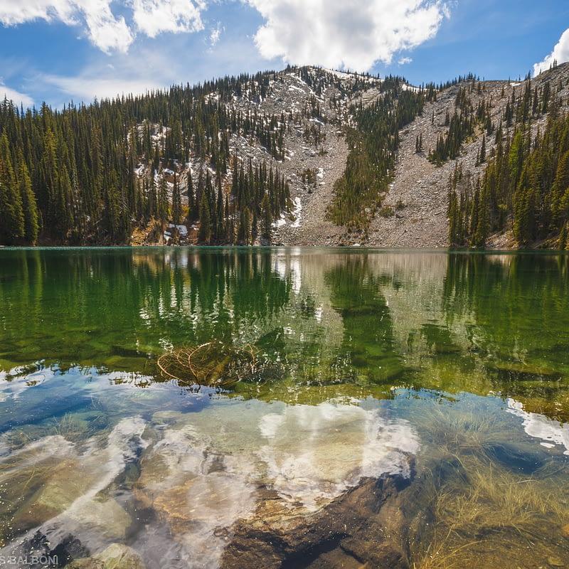 Mount Henry Lake
