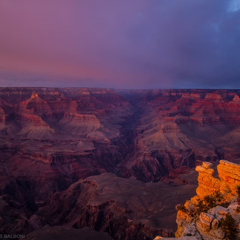 Dusk in The Canyon