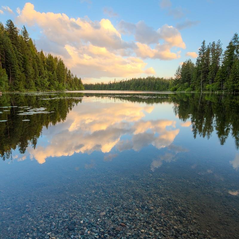 Alvord Lake Sunset