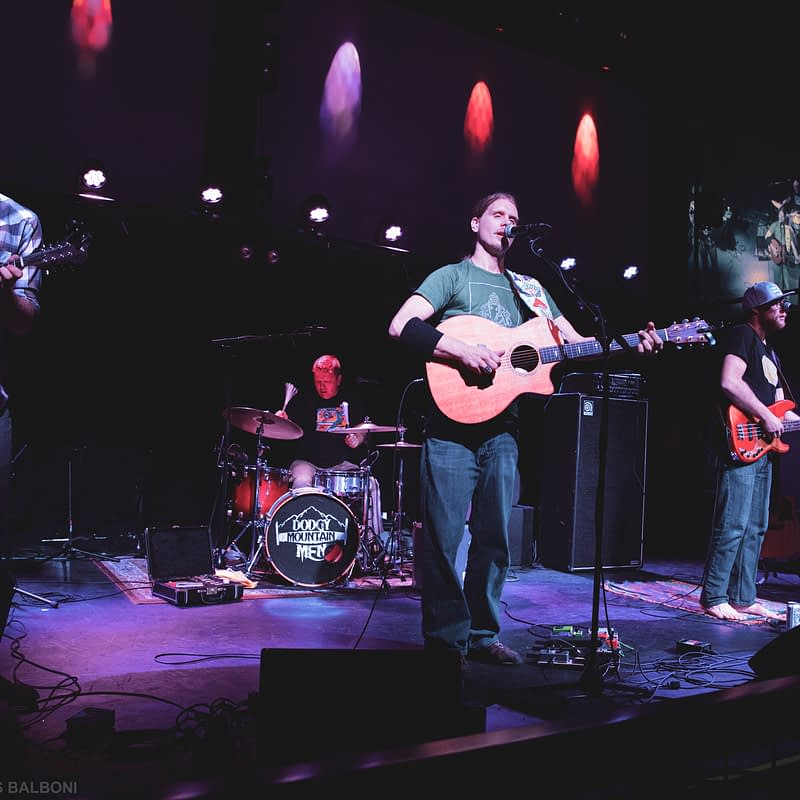 Dodgy Mountain Men, Live at The Hive (Sandpoint, ID)